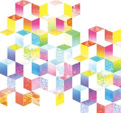 Fancy pattern (Willbryantplz) Tags: pattern gradient cubes