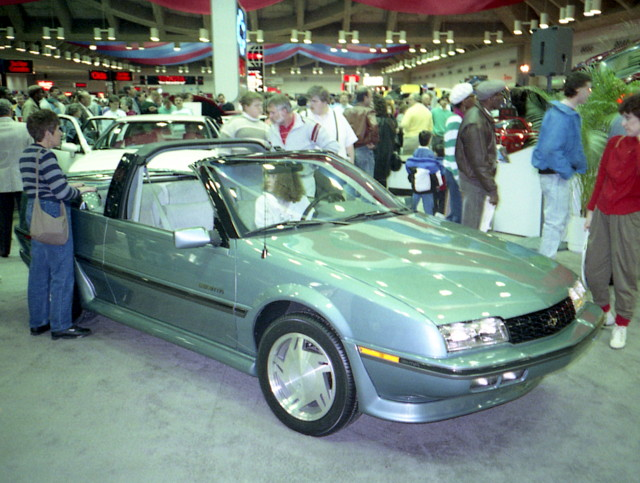 convertible chevy 1990 carshow beretta baltimoreconventioncenter motortrendinternationalautoshow
