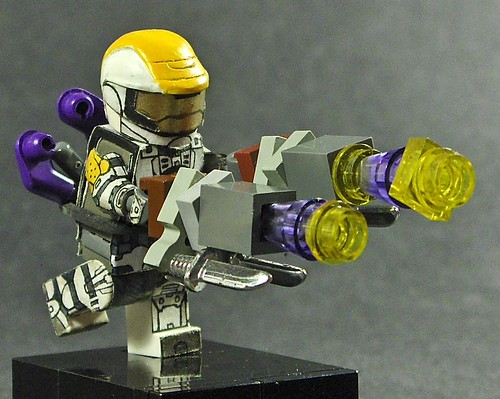 Mad sci fi custom minifig
