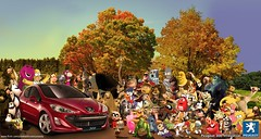 Peugeot 308 (Bruno_Nunes) Tags: iceage photoshop mms shrek toystory harrypotter simpsons spongebob theincredibles futurama scoobydoo madagascar chickenlittle donaldduck cartoons peugeot animaniacs woodywoodpecker jetsons asterix flinstones crazyfrog kungfupanda peugeot308