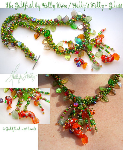Holly's Folly Goldfish Necklace