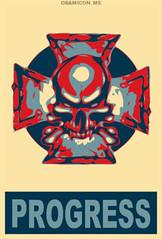 Iron Cross (rubber rat productions) Tags: ironcross obama obamarama obamicon