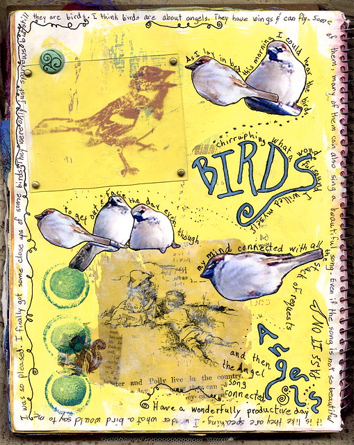 birds journal page