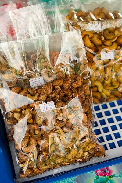 Cashew nuts, Ko Yao Noi, Thailand