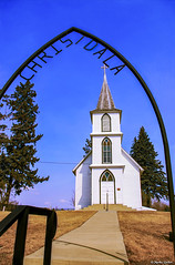 Kristdala Forsamlingen (M@rtha Decker) Tags: christdala swedish lutheran church den svenska evangeliska lutherska forsamlingen rural rice county lonsdale millersburg minnesota nicolaus gustafson cole younger jesse james gang raid northfield bank gothic revival country småland blekinge skåne immigrants settlers nhrp 95000617 national register historic places pentax k100d justpentax expressyourselfaward dslr digital flickriver
