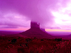 Pink Purple Hazy at Monument Valley Dawn (Nihihiro & Shihiro) Tags: arizona usa monument colors clouds sunrise landscape dawn us mount monumentvalley desertflowers yellowdawn purplemountains valleyfloor lowhangingclouds hazymorning purplecolors interestinglandscape pinkcolors pinksandstonemonument pinkishdawn awakentopinkmorning colorfulmount desertpurples pinkshilouette purplehazeatdawn