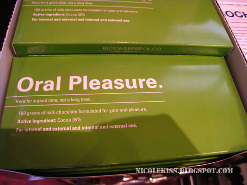 oral pleasure chocolate