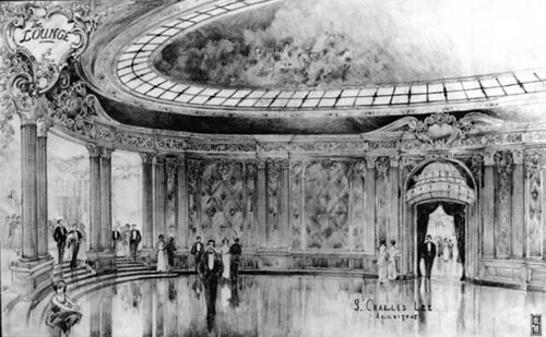 Los Angeles Theatre Architects' Drawing