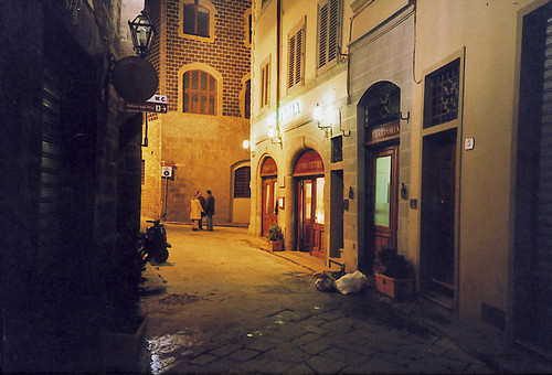 Firenze alley at night