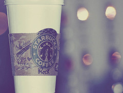 Emo *Bux (Crazy Princess) Tags: cup coffee girl star gray emo bored double class boredom explore starbucks mocha sucks bucks qu explored maciatto crazyprincess