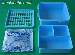 Lock & Lock cool pack container (exploded)