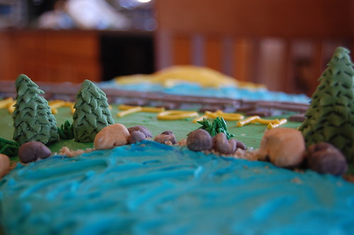 Christopher's Train Cake