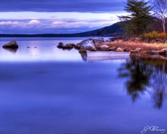 Still Water (gwhiteway) Tags: canada water night newfoundland boat stillwater soe dover pictureperfect tup platinumheartaward spiritofphotography