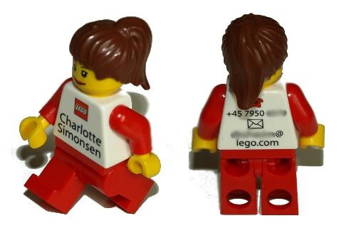 Tarjetas de presentación Lego