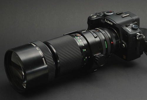 G1 with 300mm f4