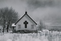 (youngns) Tags: california snow church easternsierras