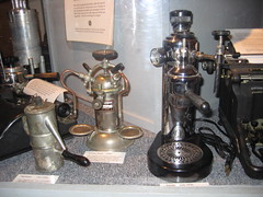 More old-school coffeemakers