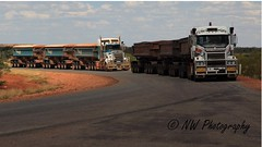 Road Train duo (Northern wanderer) Tags: road truck australia trucks westernaustralia roadtrain pilbara marblebar canon5dmkii northernwanderer patricklow2012