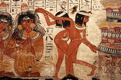 Egyptian Dancing Girls ( Libyan Soup) Tags: girls woman painting dance women dancers dancing egypt entertainment egyptian egipto britishmuseum fresco gypten egitto egypte egypten ancientegypt wallpaintings musicans egiptus egipt egyptianart gypte dancinggirls nebamun egypti  tombart tombpainting egyptianpainting egiptio egiptujo michaelcohengallery nebamunwallpaintings tombchapel tombchapelofnebamun