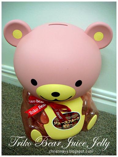Triko Bear Juice Jelly