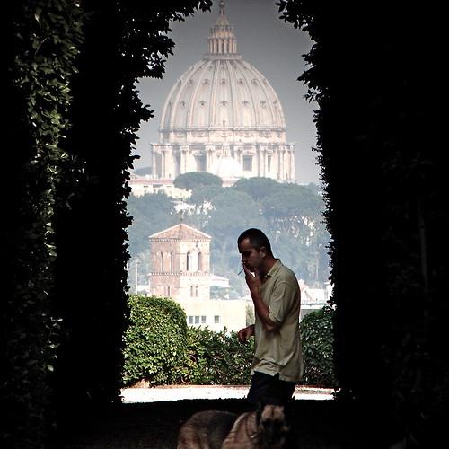 S. Pietro from S. Sabina.