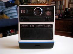KODAK EK6 (monkeymillions) Tags: camera instant newtoy cameraporn essentiallyapaperweight obsoletesince1983abitlikeamstrad