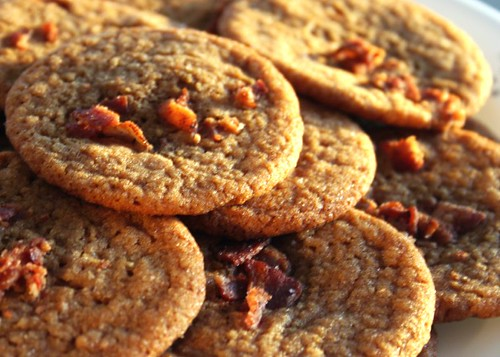 Bacon Fat Gingersnaps Recipe — Dishmaps