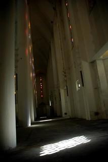 Église du Sacré Cœur [Intérieur] (Casablanca, Maroc)