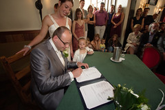 Sign here please... (Ronald Klingeler) Tags: wedding 20d bruiloft heemskerk