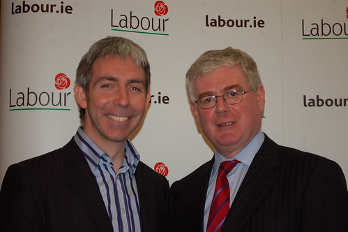 Eamon with Andrew Montague
