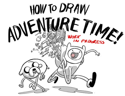 How to Draw Adventure Time!