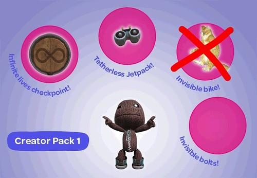 LBP Creator pack 1