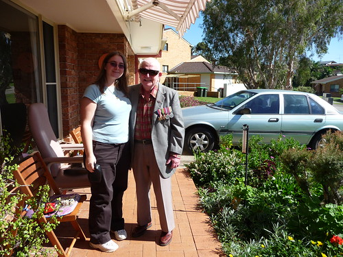 Pa and I, Anzac Day