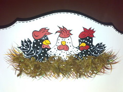 Porta pano de pratos (USINA DO ARTESANATO) Tags: country pintura portapanoprato