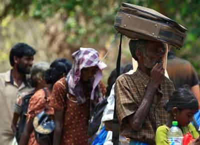 sri lanka IDPs