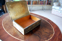 Old engraved box on Flickr