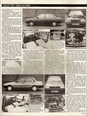 5500 Saloons Group Test 1985 3 (Trigger's Retro Road Tests!) Tags: test car magazine volvo nissan group sunny 15 rover toyota what 13 1985 213 corolla 340 gl sgl saloons 5500
