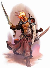 FireGenasi (Paulos Varrus) Tags: male fighter warlord firesoul genasi swordmage flamesoul