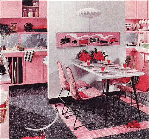 Mid Century Kitchen Design by American Vintage Home