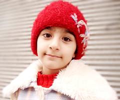 Red Hat (کلاه قرمزی) (Nasser Hasani) Tags: portrait hat angel kide کودک کلاه فرشته