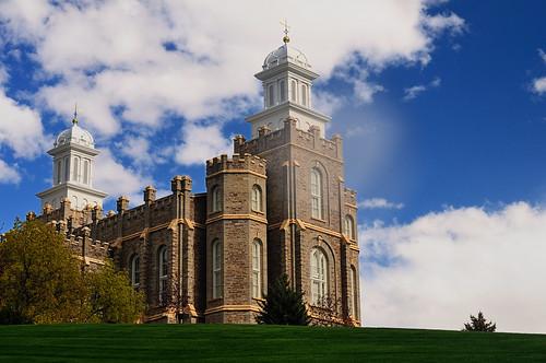 フリー画像| 人工風景| 建造物/建築物| 教会/聖堂| LDS Temple|       フリー素材|