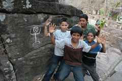 Sundry Guides Bring A Petroglyph To Life