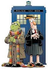 Dr. Who - Muppets mash-up