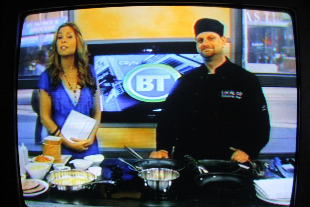 My friend Steve on Breakfast Television