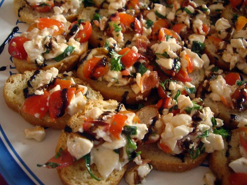 Tomato Mozarella Bruschetta from ??