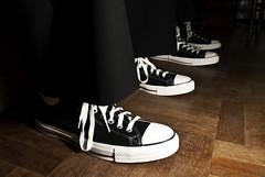 Groomsmen (RexAriel) Tags: wedding white black digital groom outfit nikon shoes married dress formal wear suit tuxedo converse d200 groomsmen rex hitched sundstrom