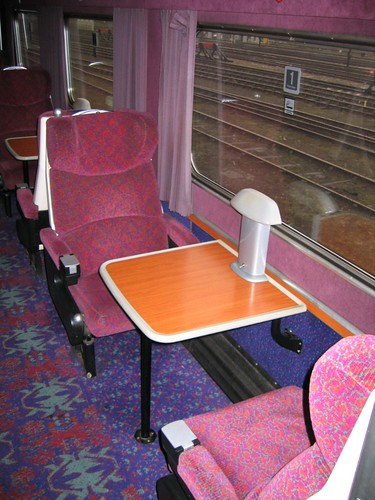 Train Chartering - First Class Pullman style carriage