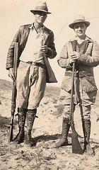 HUNTING FASHIONS, 1920S VINTAGE
