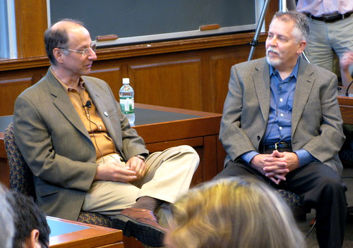 David Weinberger (left) and Doc Searls