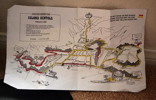 Catalina - Golf Cart Map